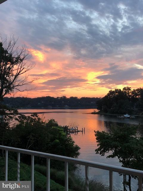 Sunset View from Deck - 1128 ASQUITH DR, ARNOLD