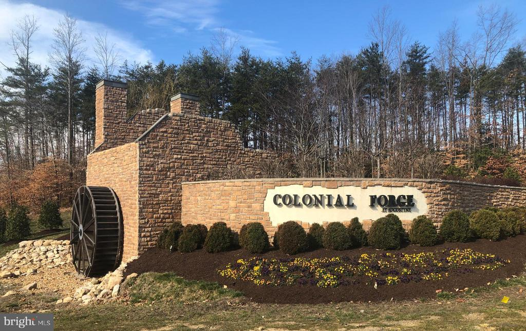 Home! Welcome to Colonial Forge! - 48 SURVEYORS WAY, STAFFORD