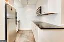 Lower level all-electric kitchenette. - 11726 WINTERWAY LN, FAIRFAX STATION