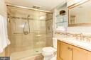 Lower level full bath. - 11726 WINTERWAY LN, FAIRFAX STATION
