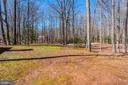 The woods. - 11726 WINTERWAY LN, FAIRFAX STATION