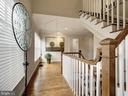 Stair to Top Level - 7612 EXETER RD, BETHESDA