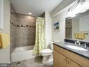 Lower Level Fifth Bath - 7612 EXETER RD, BETHESDA