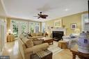 Family Room - 9125 FERNWOOD RD, BETHESDA