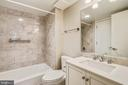 New Bathroom - 7500 WOODMONT AVE #S205, BETHESDA