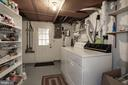 More Storage and Laundry in Unfinished Basement - 2625 N QUANTICO ST, ARLINGTON