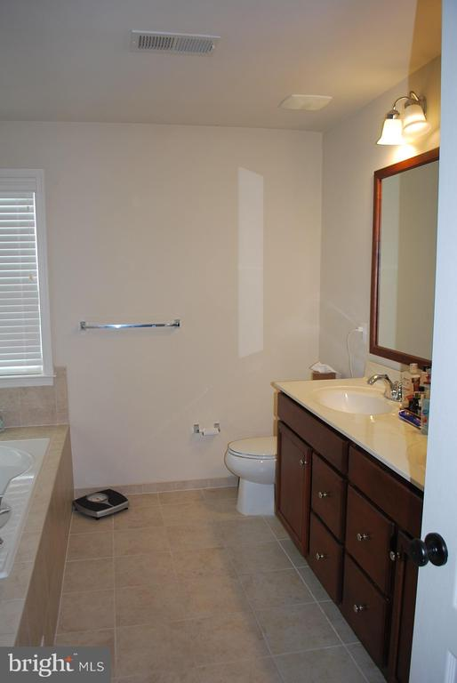 Master bath with dual sinks - 108 E. STATION TER., MARTINSBURG