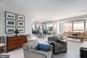 Open floor plan - 1155 23RD ST NW #PH2C, WASHINGTON