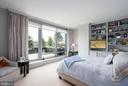 Master Bedroom with custom built-ins - 1155 23RD ST NW #PH2C, WASHINGTON