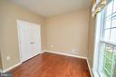 Bedroom #2 also has hardwood floors. - 29 LUDINGTON LN, FREDERICKSBURG
