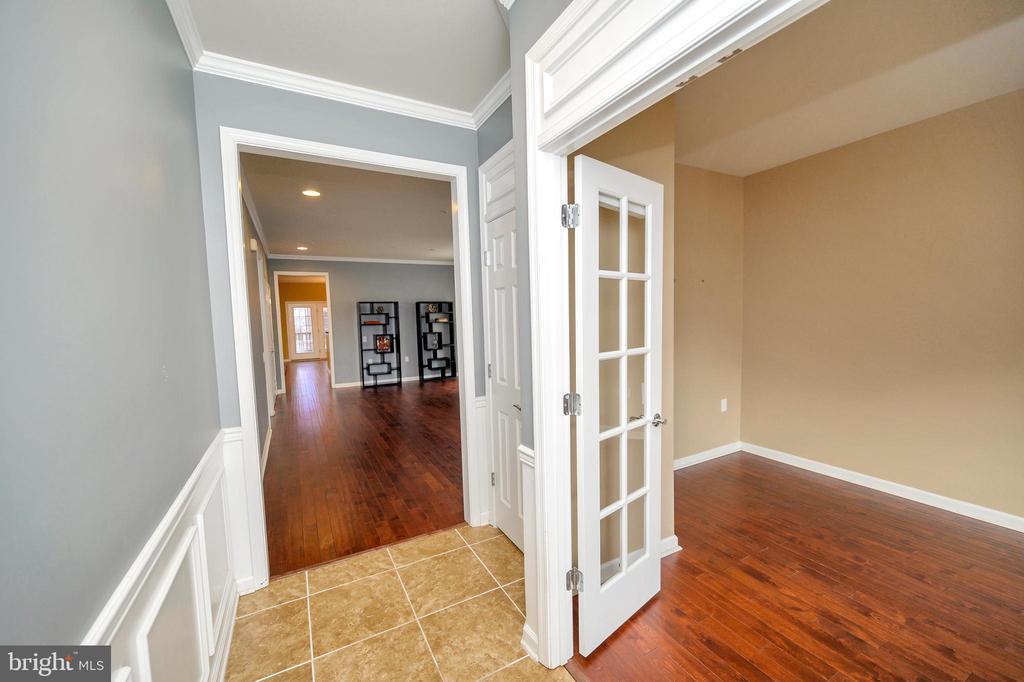 Office/Den with French doors... - 29 LUDINGTON LN, FREDERICKSBURG