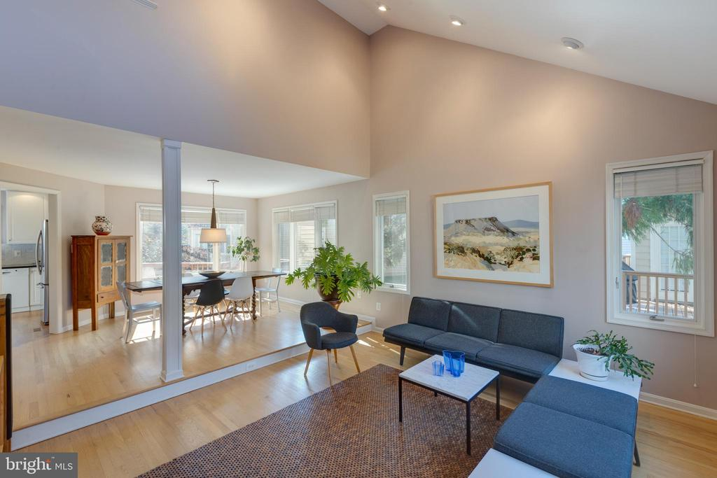 Lots of natural light from top to bottom - 11205 PAVILION CLUB CT, RESTON
