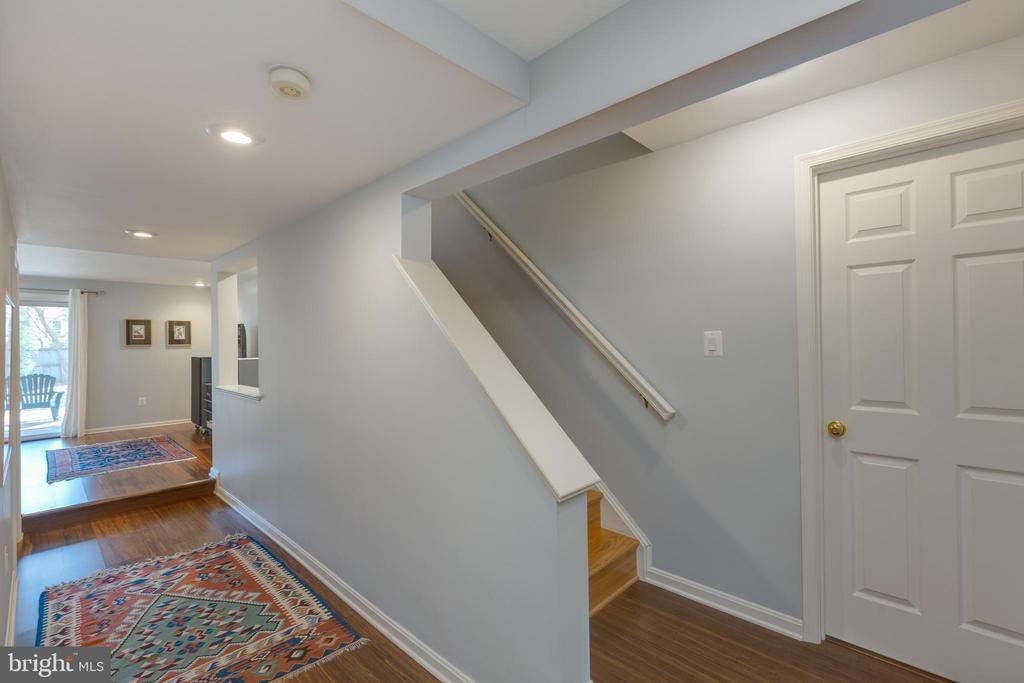 Bamboo floors in lower level - 11205 PAVILION CLUB CT, RESTON