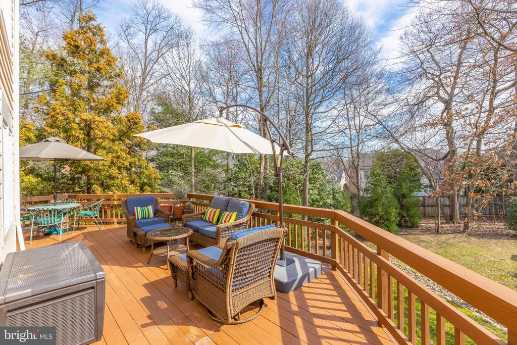 This lot feels significantly larger than it is - 11205 PAVILION CLUB CT, RESTON