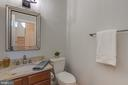 2nd Main Level Powder Bath - 16357 LIMESTONE CT, LEESBURG