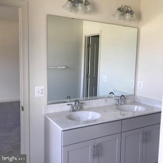 Vanity - 3708 WHISPER HILL CT, UPPER MARLBORO