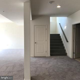Lower Lever Stairs - 3708 WHISPER HILL CT, UPPER MARLBORO