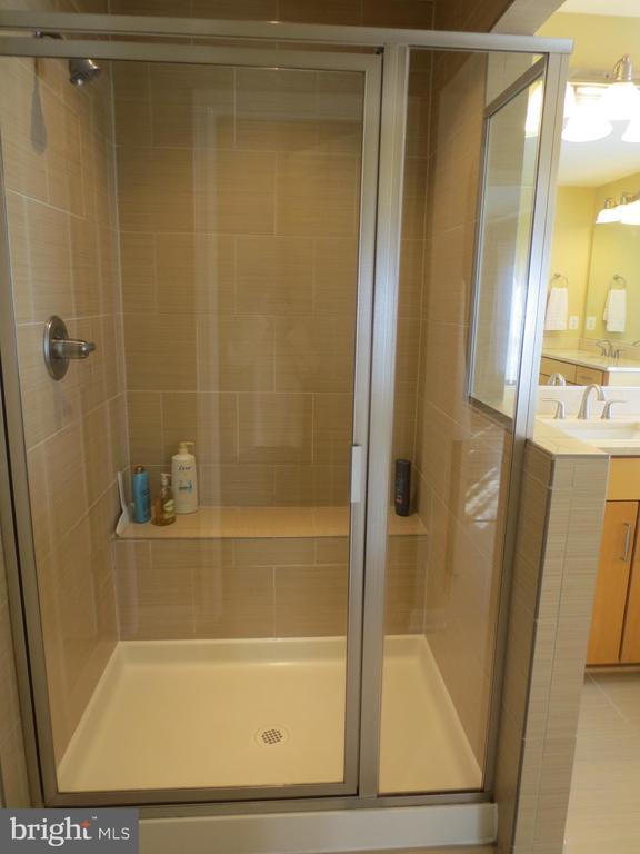 Master shower - 10623 LEGACY LN, FAIRFAX