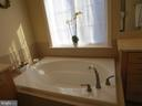 Master soaking tub - 10623 LEGACY LN, FAIRFAX