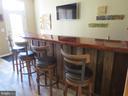 Custom bar in entertainment room - 10623 LEGACY LN, FAIRFAX