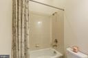 Second main level full bath - 17013 SILVER ARROW DR, DUMFRIES
