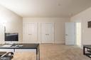 Huge basement bedroom with double closet - 17013 SILVER ARROW DR, DUMFRIES