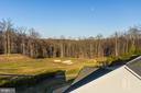 Areal view of yard and golf course - 17013 SILVER ARROW DR, DUMFRIES