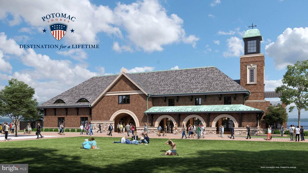 Rendering of the VRE station - coming 2022 - 17013 SILVER ARROW DR, DUMFRIES