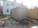 Backyard shed for all your storage! - 3426 CROFFUT PL SE, WASHINGTON