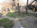 Great backyard! - 3426 CROFFUT PL SE, WASHINGTON