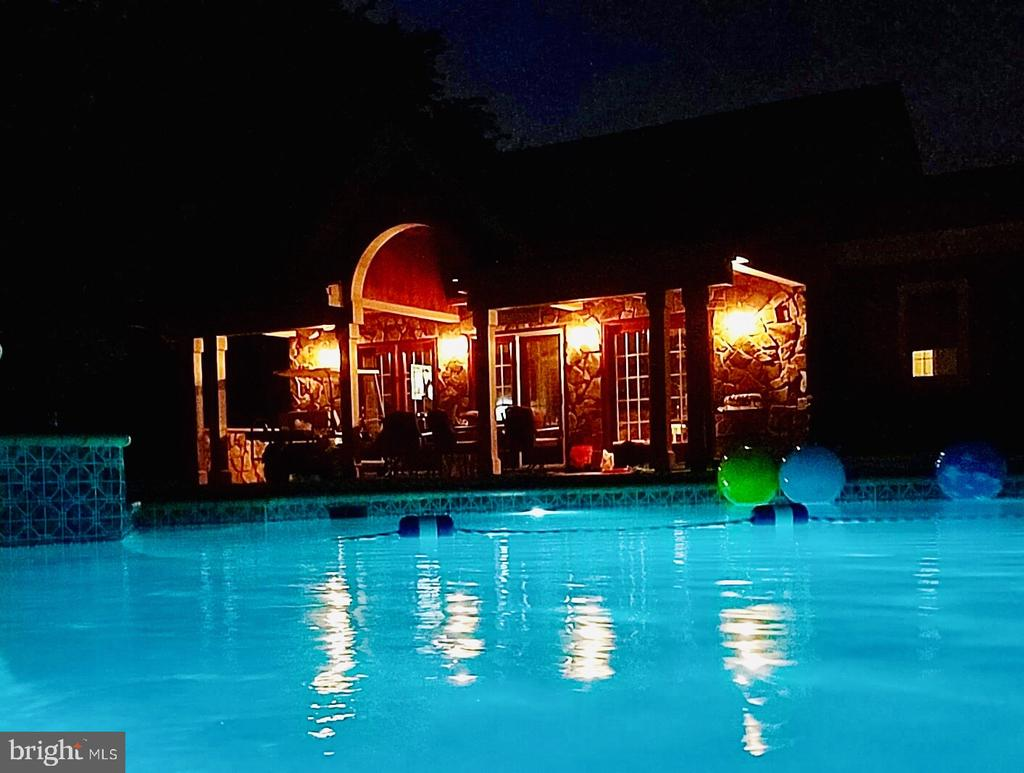 Pool/Guest House view - 40325 CHARLES TOWN PIKE, HAMILTON