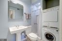 Full bathroom and washer/dryer - 2101 CONNECTICUT AVE NW #23, WASHINGTON
