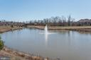 Beautiful active fountain pond - 25558 MINDFUL CT, ALDIE