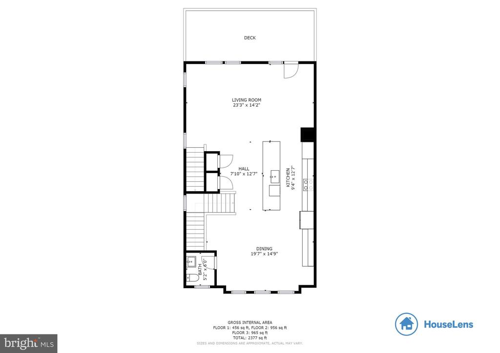 Floor Plan Main Level - 10528 RATCLIFFE TRL, MANASSAS
