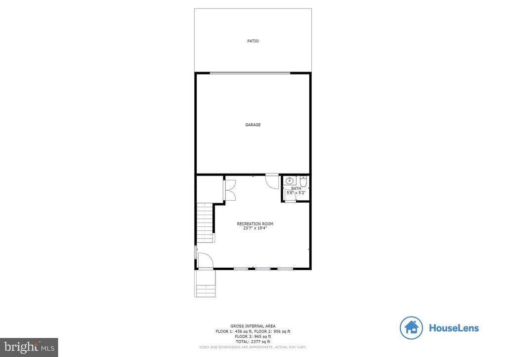 Floor Plan Lower Level - 10528 RATCLIFFE TRL, MANASSAS