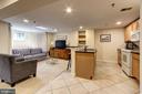 Lower Level Income Unit- Open Living Area - 1008 E CAPITOL ST NE, WASHINGTON