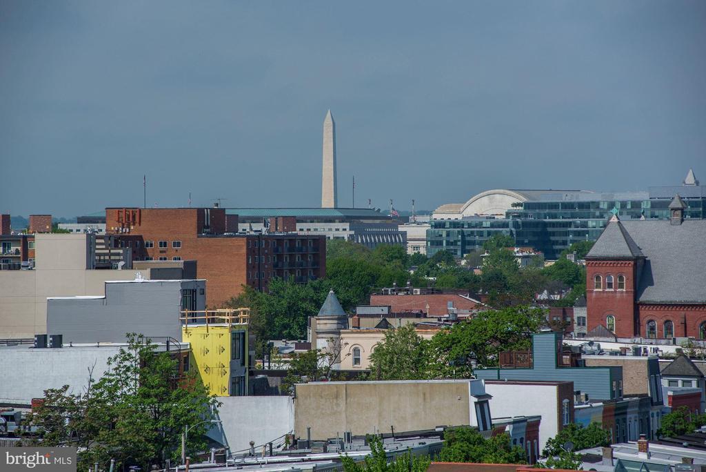 View from unit balcony - 1111 ORREN ST NE #501, WASHINGTON