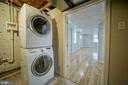 New Full Size Stackable Washer/Dryer - 2129 FLAG MARSH RD, MOUNT AIRY
