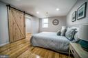 Master Bedroom with Walk-in Closet & Ensuite - 2129 FLAG MARSH RD, MOUNT AIRY