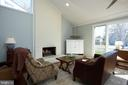 Study/Office Sitting Area with Fireplace - 238 RIVERSIDE RD, EDGEWATER
