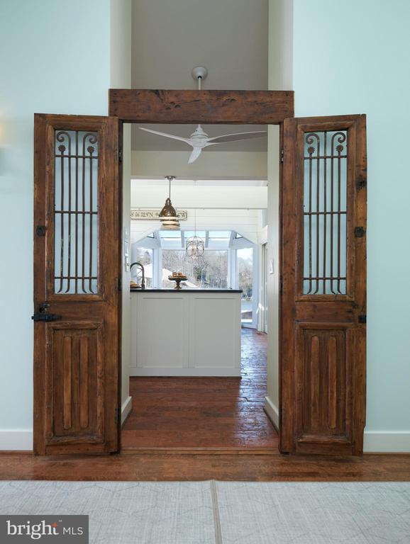 Kitchen Entrance-Antique Doors - 238 RIVERSIDE RD, EDGEWATER