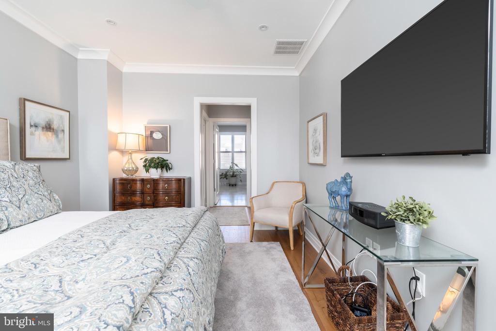 Master bedroom - 505 ORONOCO ST, ALEXANDRIA