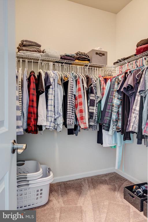 Master Bedroom walk-in closet - 1148 HOLDEN RD, FREDERICK