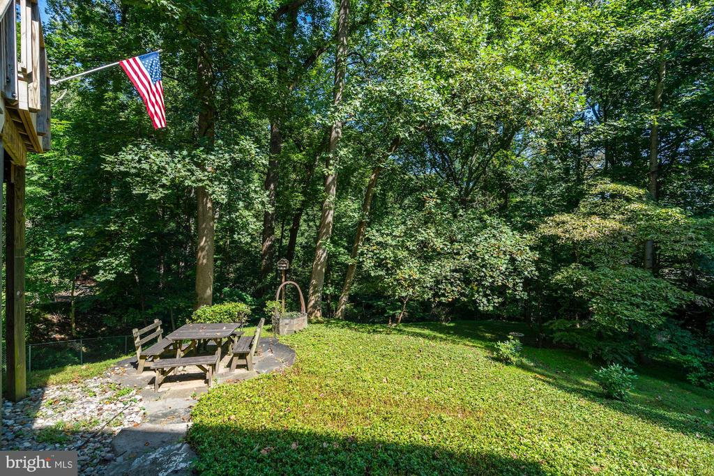 Private Backyard - 4055 40TH ST N, ARLINGTON