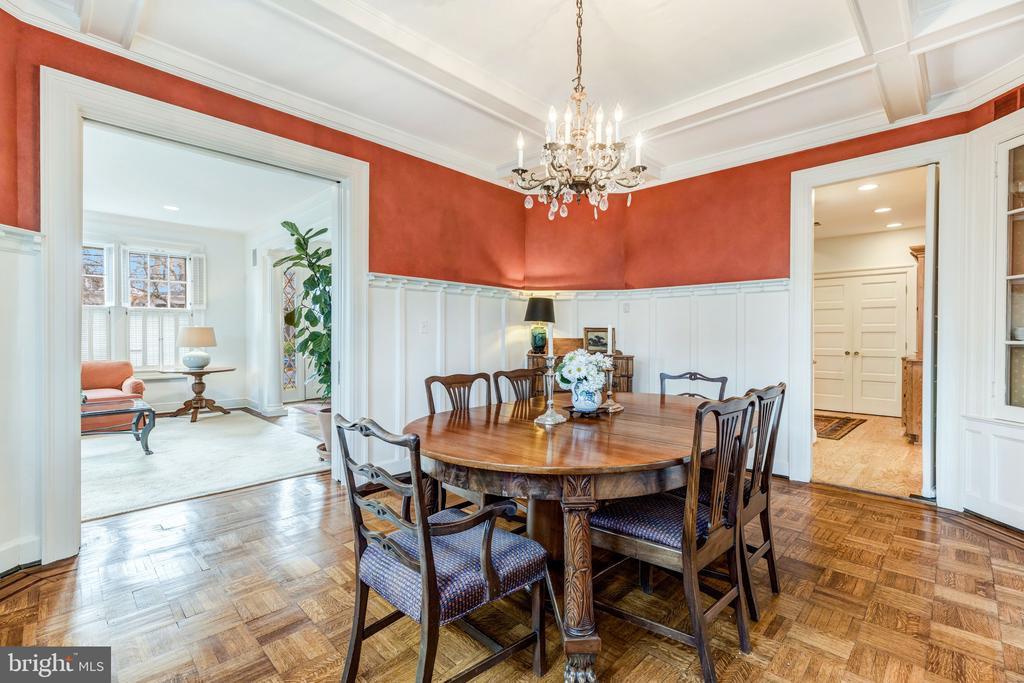 Dining room - 3301 HIGHLAND PL NW, WASHINGTON
