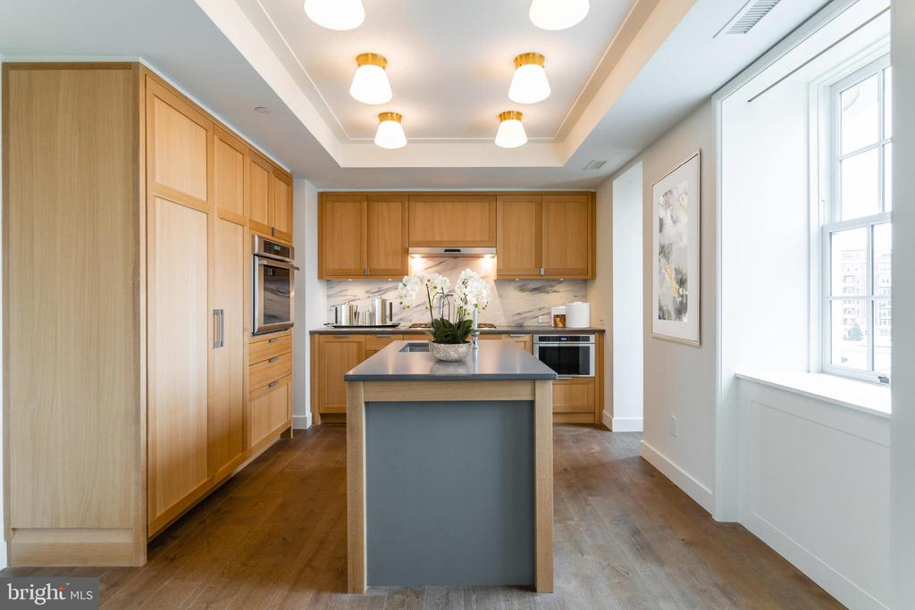 Gourmet Kitchen with walk-in Pantry - 2660 CONNECTICUT AVE NW #5E, WASHINGTON