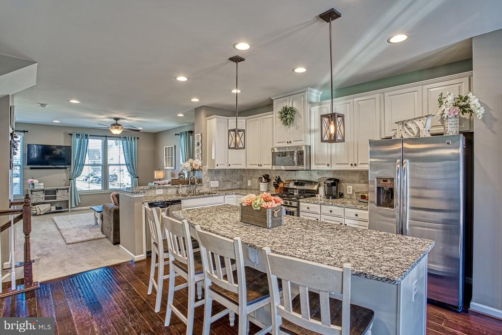 Extended Island - Perfect for Entertaining - 25056 MCCULLEY TER, ALDIE
