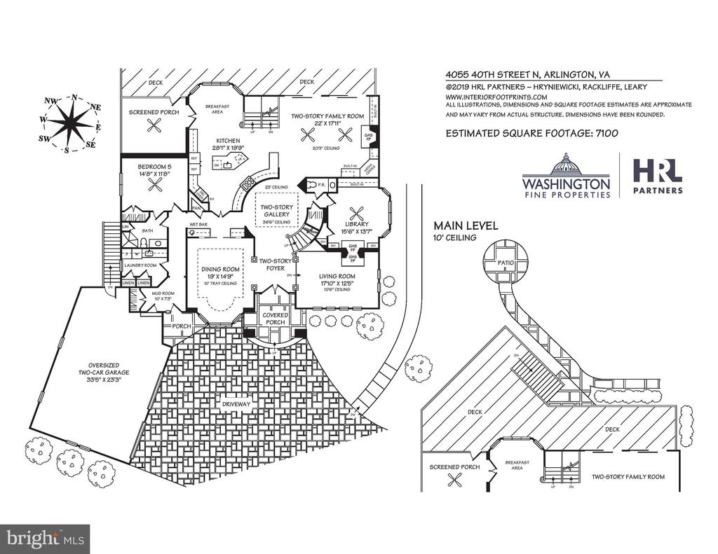 Main Level Floor Plan - 4055 40TH ST N, ARLINGTON