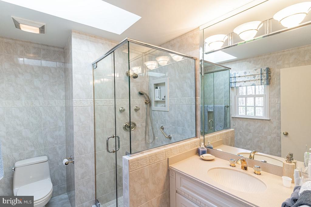 Master Bedroom Bath with a walk-in shower. - 11905 VIEWCREST TER, SILVER SPRING