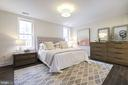Huge master bedroom - 1745 N ST NW #213, WASHINGTON